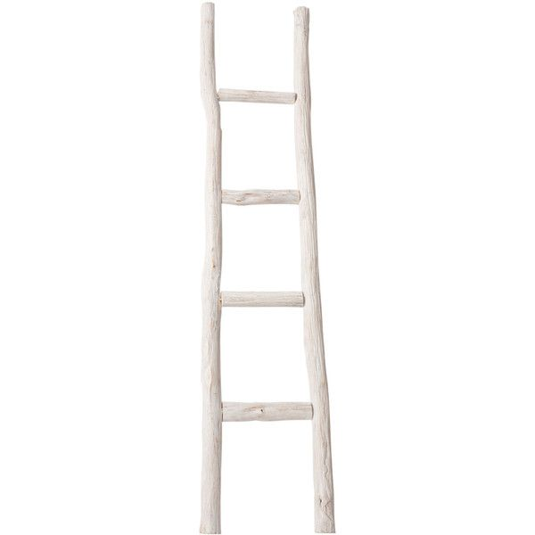 Zara Home Wooden Ladder Towel Rack (€72) ❤ liked on Polyvore featuring natural colour