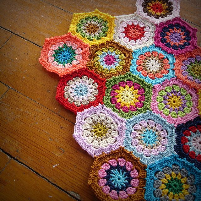 Crochet, like my granny squares quilt. Need to learn how to do this...
