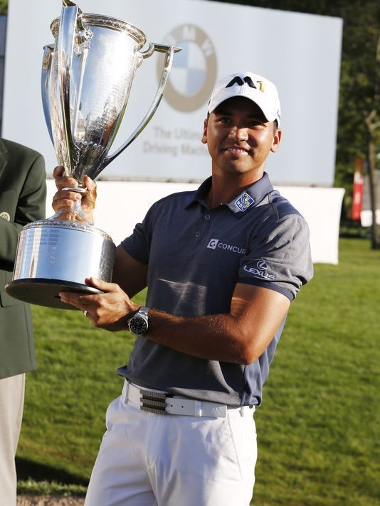 Jason Day wins BMW Championship and becomes #! golfer in the world. Shop for the best in Golf Push Carts and More at  http://bestgolfpushcarts.net/product-category/golf-push-carts/bag-boy/
