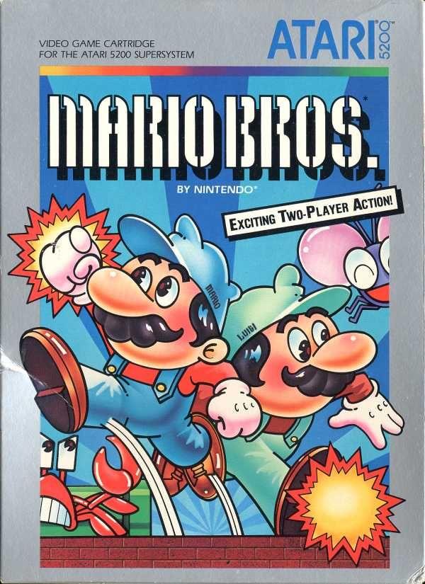 Mario Bros for ATARI 5200
