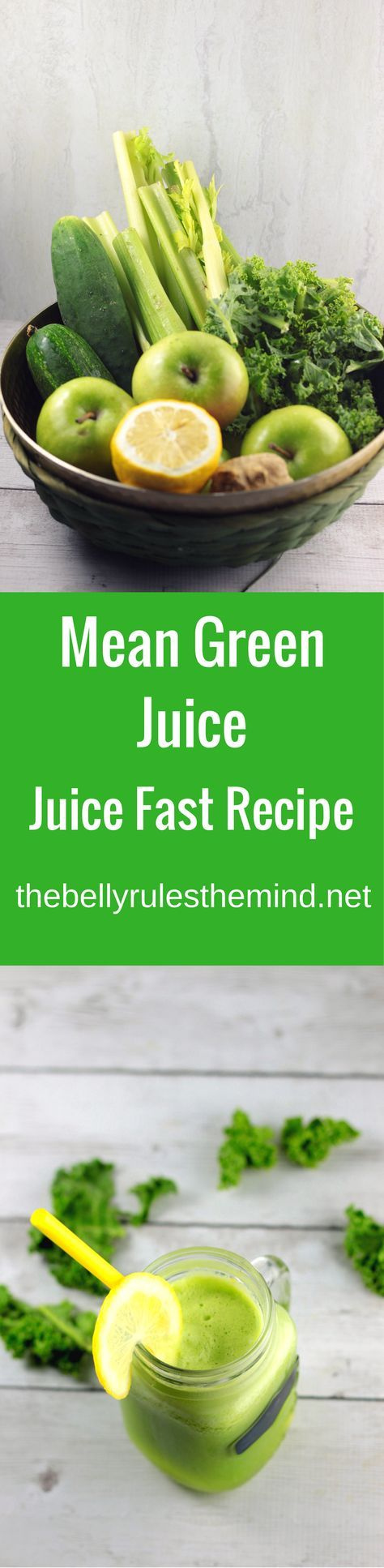 The world's most famous Green juice recipe. Joe Cross's Mean Green will even leave kids begging for more. 6 healthy ingredients, 5 minutes and a juicer is all you need to clean, detox and reboot |www.thebellyrulesthemind.net