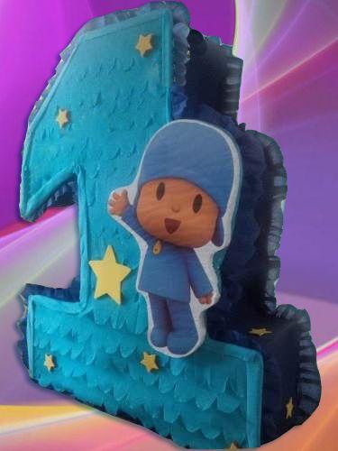 Pocoyo número uno Pinata Party Kids Games suministros Fiesta Niños Niña Bonita Nueva in Home & Garden, Greeting Cards & Party Supply, Party Supplies | eBay