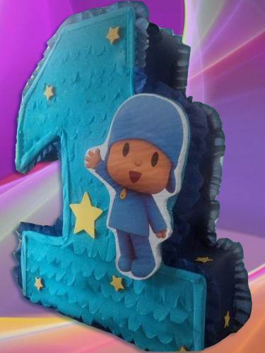 Pocoyo número uno Pinata Party Kids Games suministros Fiesta Niños Niña Bonita Nueva in Home & Garden, Greeting Cards & Party Supply, Party Supplies | eBay