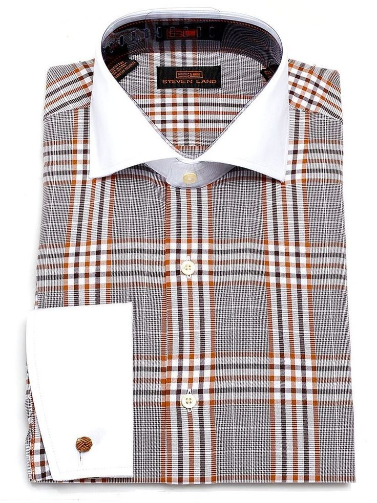1000 ideas about men 39 s plaid shirts on pinterest harris for Mens shirt french cuff