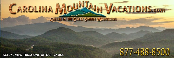 Carolina Mountain Vacations: The perfect mountain getaway can be found when you stay with Carolina Mountain Vacations. With the large variety of vacation homes and cabins that we manage, you are sure to find just what you're looking for. We are dedicated to providing that old fashioned, small town, person to person approach to finding the perfect cabin for your next vacation or romantic getaway. We will treat you like a visiting old friend when you stay with us.