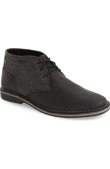 Steve Madden 'Harken' Leather Chukka Boot (Men) available at #Nordstrom