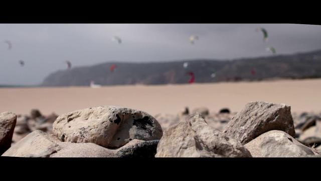 #Kitesurf video: Guincho Beach Portugal and some surfing, kiting, windsurfing | by james bedford #Portugal
