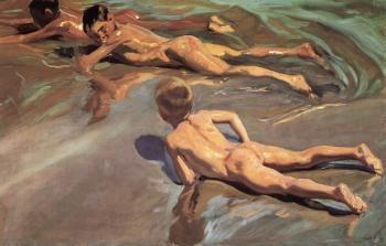 Boys on the Beach - Joaquin Sorolla y Bastida