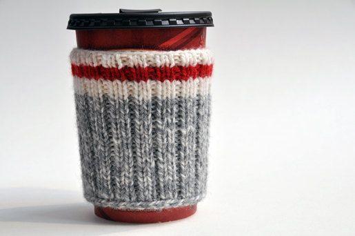 Randonnée Camping tasse Mug cosy manches tricotés à la main - Take a Hike