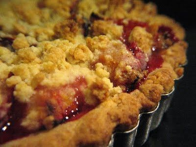 Perfectly Delicious Plum Pie