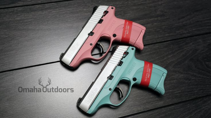 Ruger LC9s in tiff blue and bubblegum pink. Will only ship to an FFL in your area. Contact us if you need one for your firearm collection. (713) 703-4648 #ruger #rugerlc9s