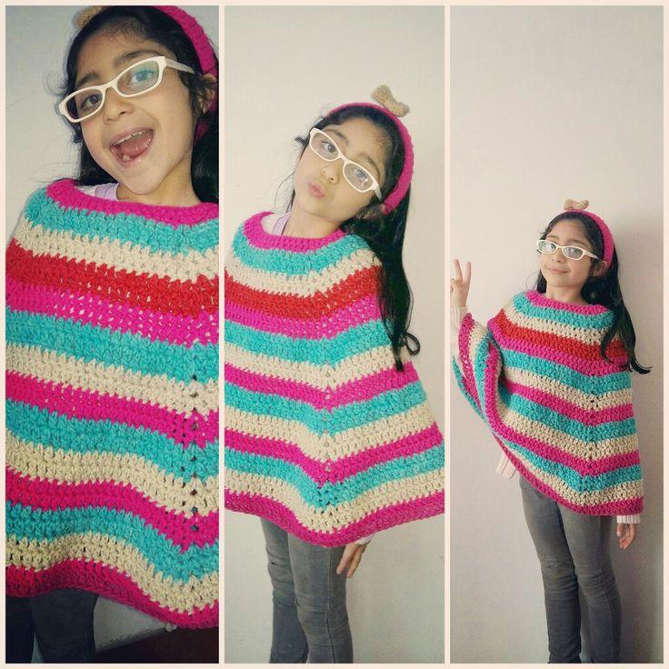 Fin del poncho crochet