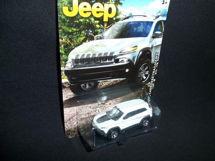 Matchbox 2014 Jeep Cherokee Trailhawk 2016 Anniversary Edition White #Matchbox #Jeep