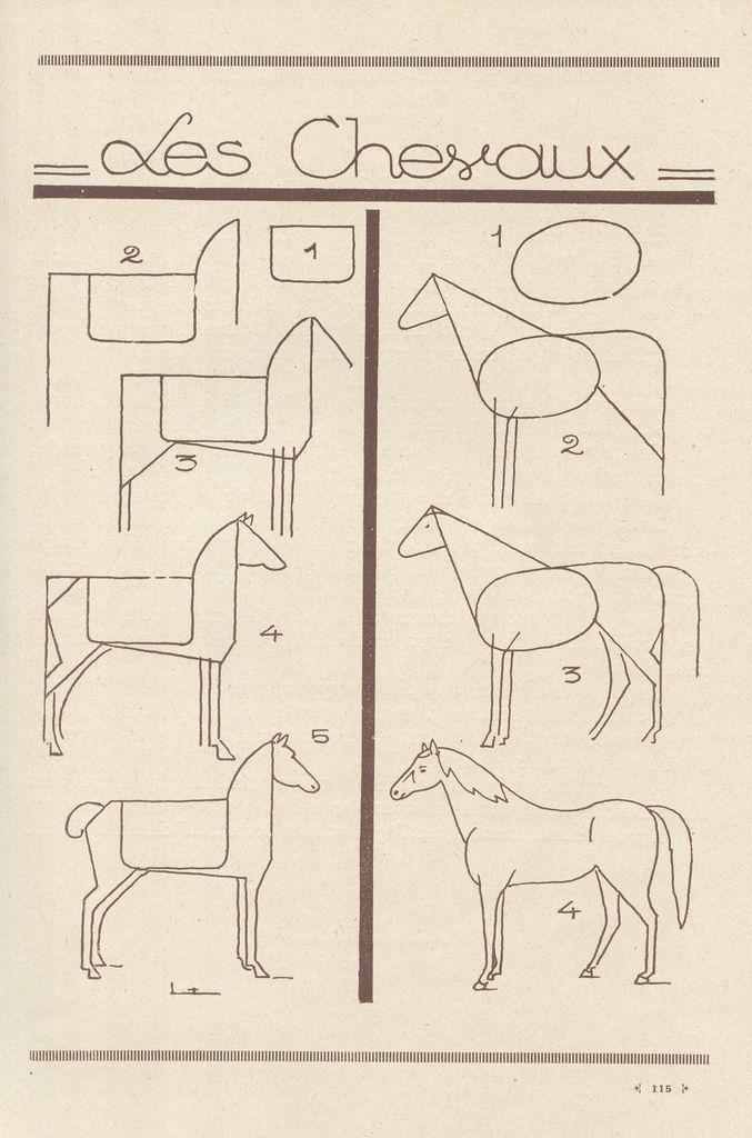 Foto: Guias para aprender a dibujar animales tutoriales ilustraciones diseno ....reépinglé par Maurie Daboux ❥•*`*•❥