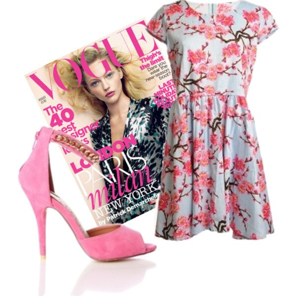 Pink Vogue at macdoll.com ♥ #fashion #fbloggersuk #fbloggers #dress #love