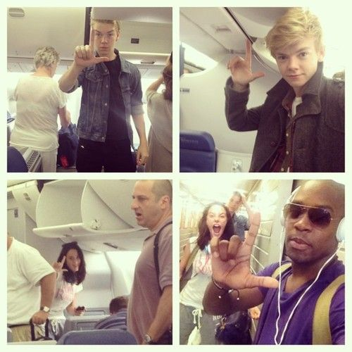 """Where we from? Where are we at? #LONDON."" via Aml Ameen. The Maze Runner cast returns home."