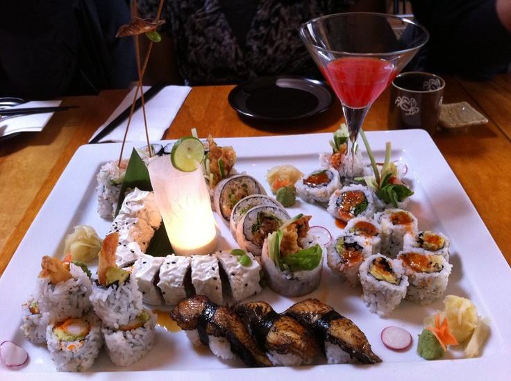 beautiful sushi presentation @ kishimoto | Makes my mouth ...