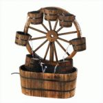 Wagon Wheel Fountain (pack of 1 EA)