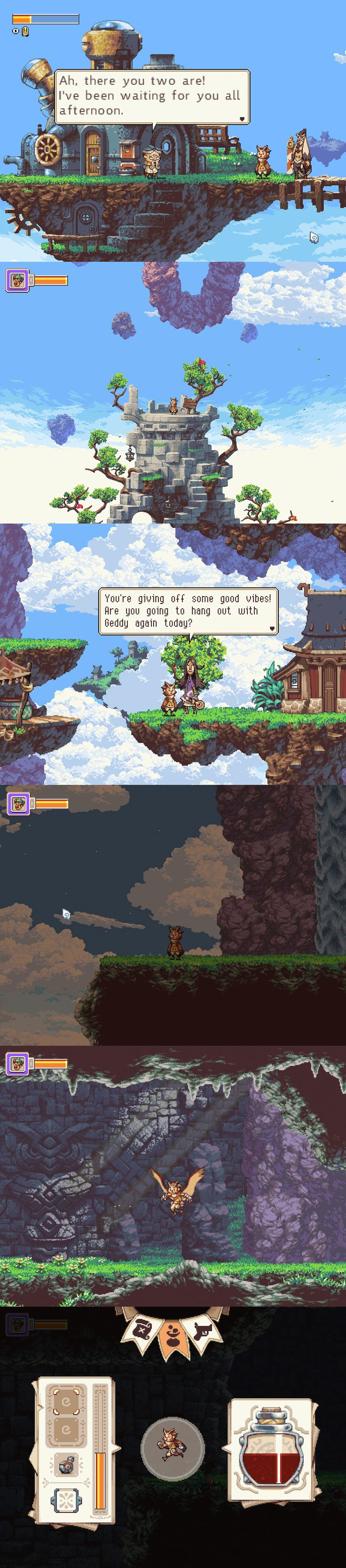This looks cool. | Owlboy