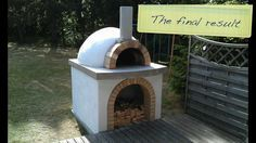 PDF How to make a brick pizza oven DIY Free Plans Download wood ...