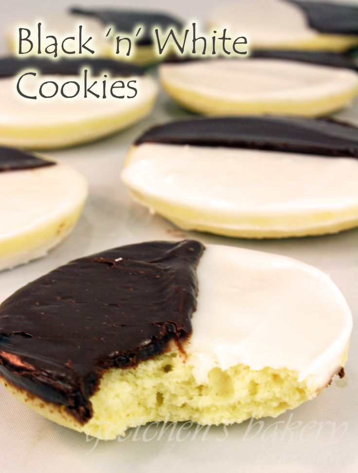 Black And White S'mores Cookies Recipe — Dishmaps