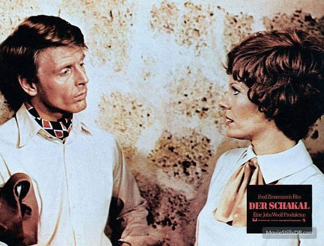 ihe day of the jackel | The Day of the Jackal lobby card with Edward Fox & Delphine Seyrig