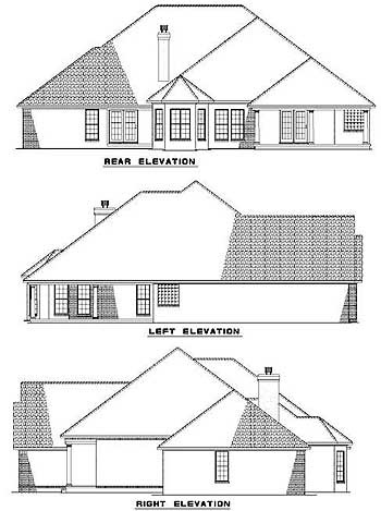 166 best home plans i love images on pinterest house for Classic ranch house plans