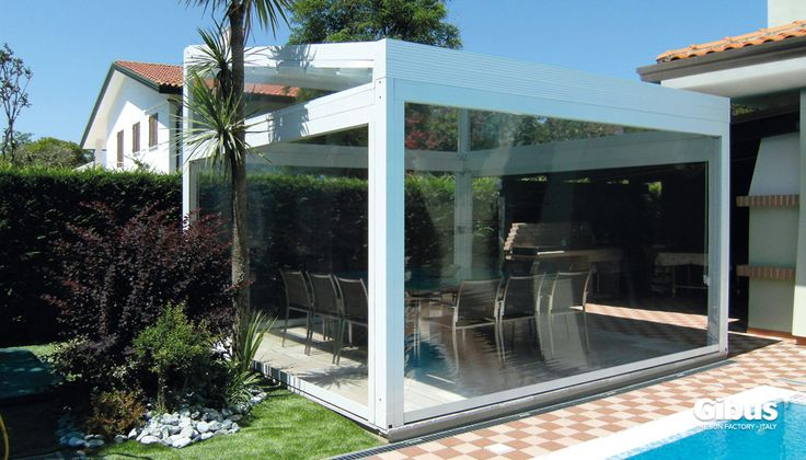 13.QU - Outdoor Blinds, ability to fully enclose an outdoor area.
