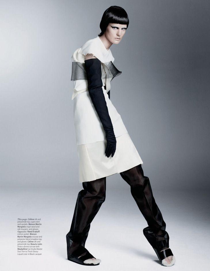 Stella Tennant by Steven Meisel for W Magazine