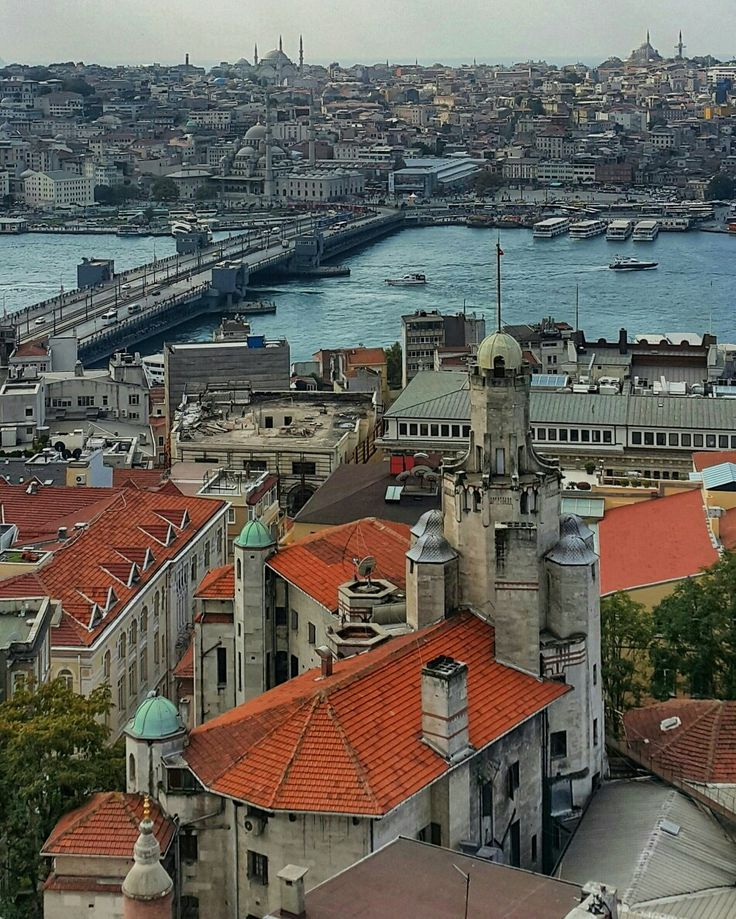 Galata Kulesinden Kuşbakışı, Istanbul