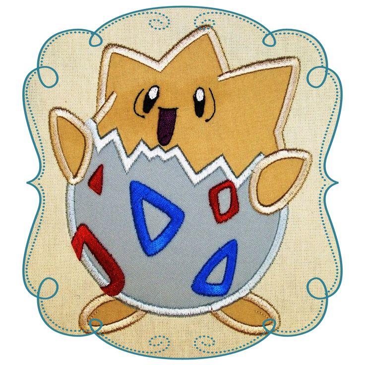 Pokemon Applique Design