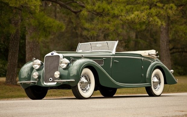 1937 Delage D8-120 Drop Head coupe