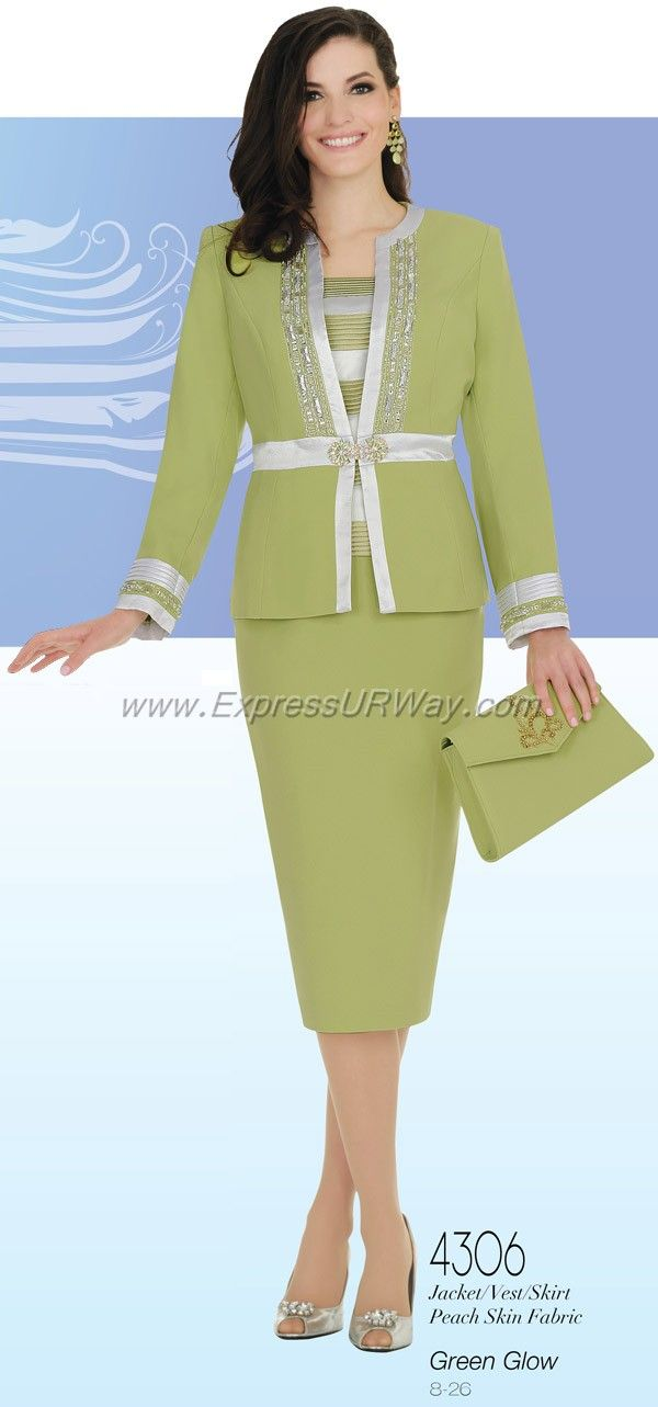 Womens Church Suits by Champagne for Spring 2014 - www.ExpressURWay.com - Champagne, Womens Church Suits, Church Suits, Spring 2014, Champagne Womens Suits, Womens Suits, Church Suits for Women, ExpressURWay