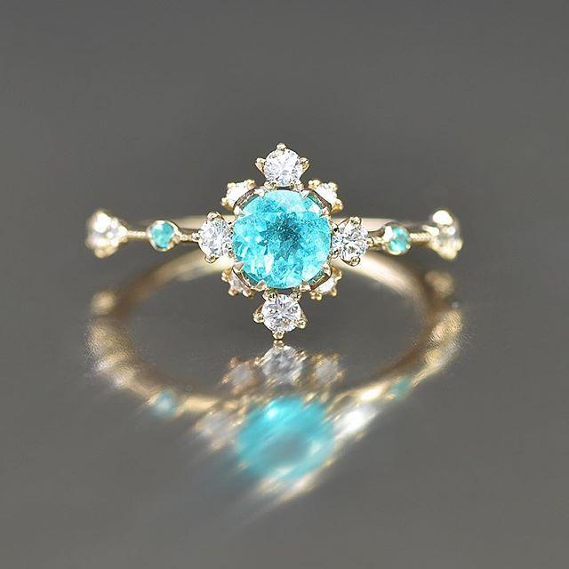 Kataoka Jewelry Paraiba Ring