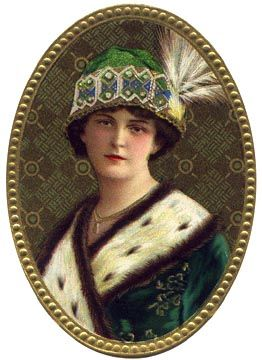 Free Victorian Graphics, gorgeous Victorian ladies, page 1