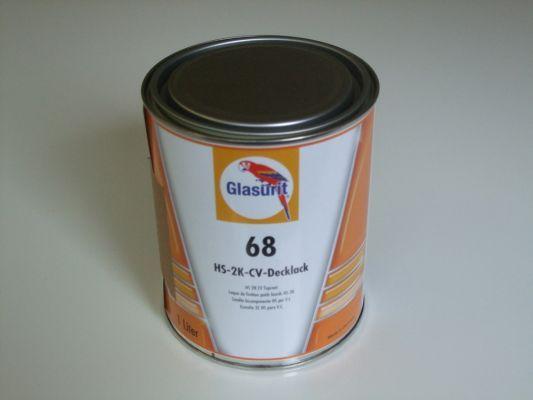 Glasurit Reihe 68 2-Komponentendecklack. Tipps und Beratung zur Lackierung.