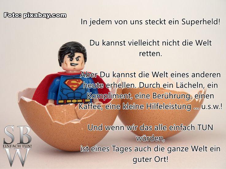 Auch Du bist ein(e) Superheld(in)!