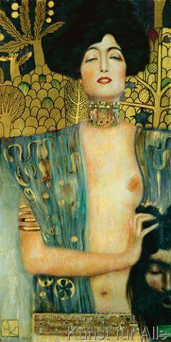 Gustav Klimt - Judith I., 1901