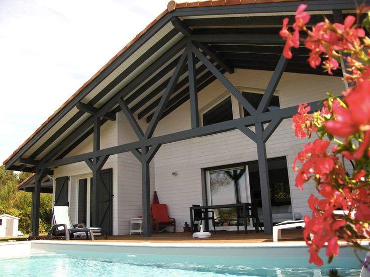 maison bois typique landaise par alaya la maison bois par maisons extensions. Black Bedroom Furniture Sets. Home Design Ideas