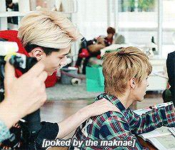 EXO Sehun and Kris