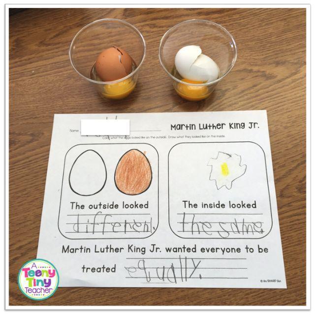 Dr. Martin Luther King, Jr Activities - A Teeny Tiny Teacher