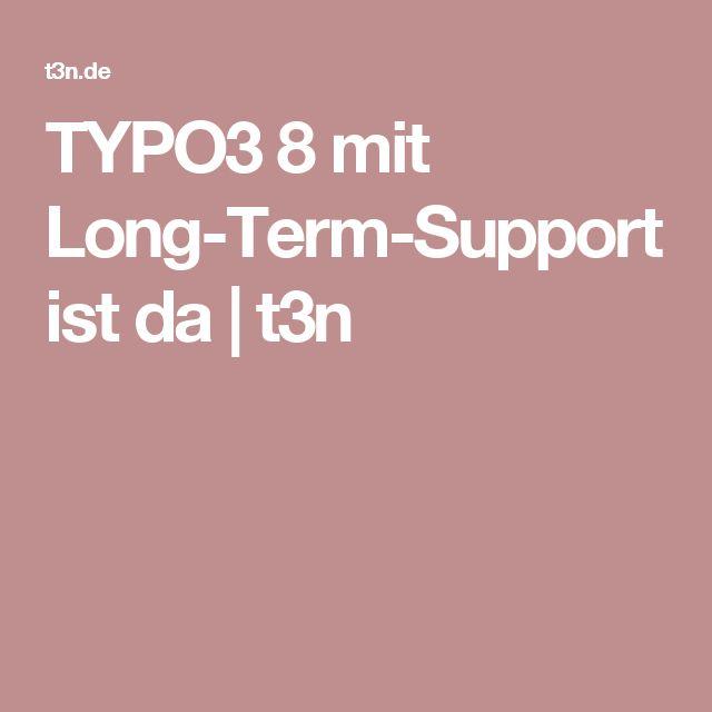 TYPO3 8 mit Long-Term-Support ist da | t3n