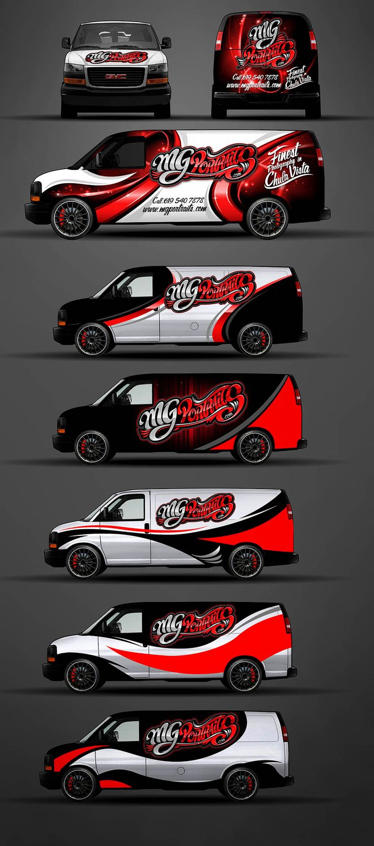 Car sticker design pinterest - Wrap Design Development