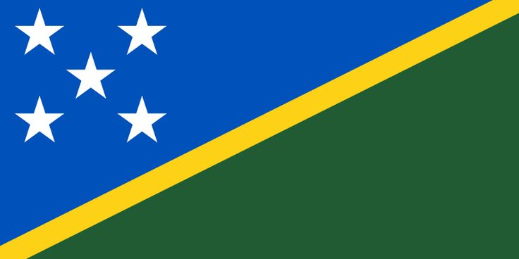 Flag of the Solomon Islands - Gallery of sovereign state flags - Wikipedia, the free encyclopedia