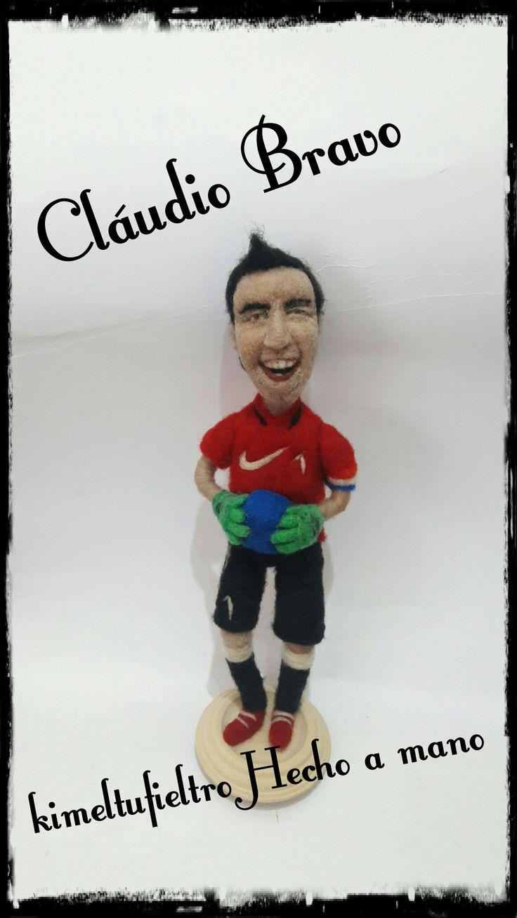 Arquero de chile !!  Claudio Bravo