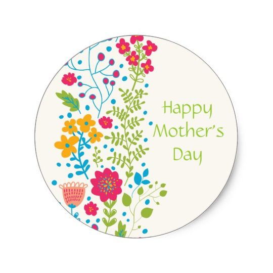 Поздравлениями, день матери стикер открытка