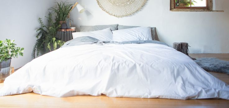 There's nothing quite like the feeling you get when slipping into beautiful, crisp, white sheets at the end of a long day. It can be quite disappointing to watch your beautiful white bed linen turn a not-so-attractive shade of yellow over time. There are several reasons why this might happen.