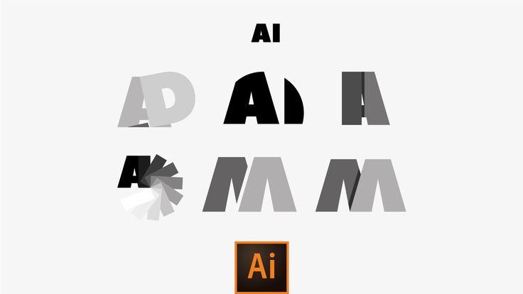 Come creare Logotipi semplici con Adobe Illustrator [San Serif Style] [VIDEOTUTORIAL]