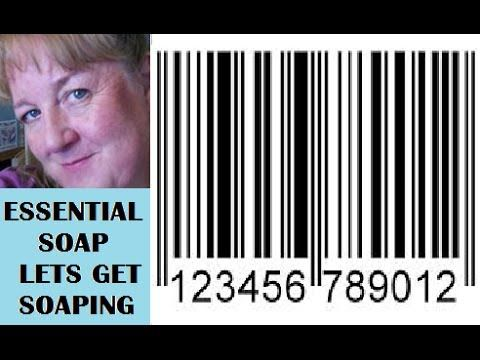 How to Buy Barcodes and Create Barcode Labels for your Homemade Soap Turtorial with Essential Soap - YouTube