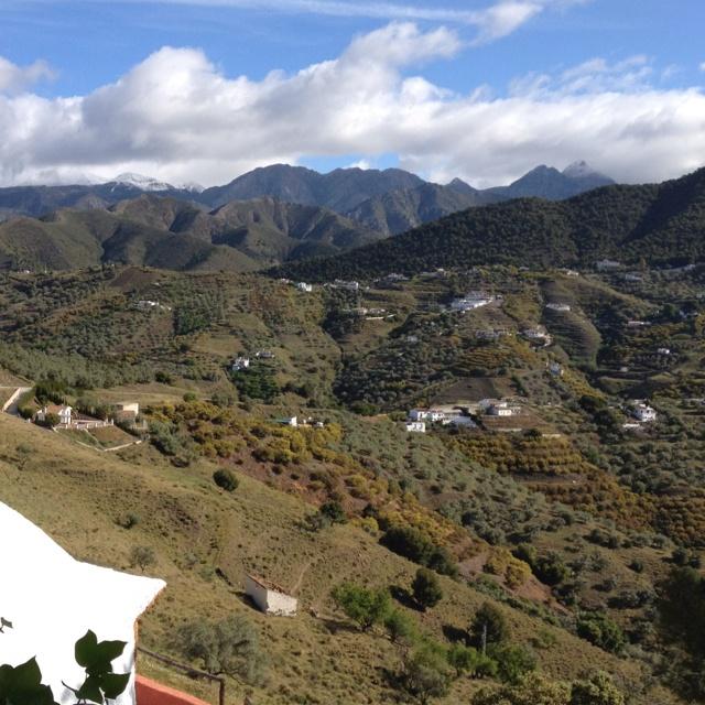 Frigiliana (Málaga, Spain). Mountains